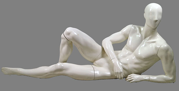 male sitting mannequin 008