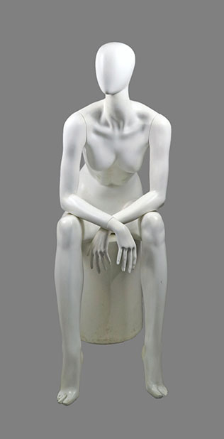 male sitting mannequin 017